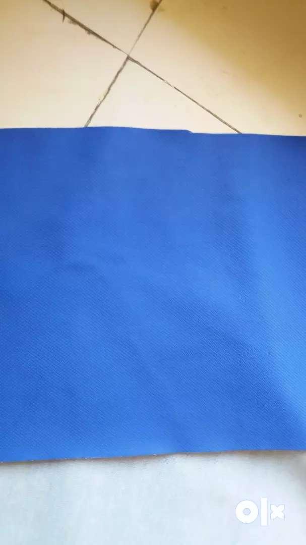 Blue colour rubber regzin 0