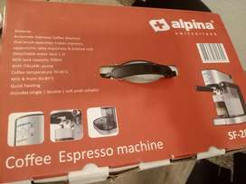 Alpina coffee maker