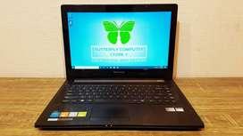 Laptop Desain Grafis Lenovo G40-45 AMD Dualcore RAM 4GB Body Slim
