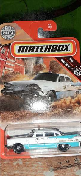 Jual matchbox dodge coronet 1959 police car edition