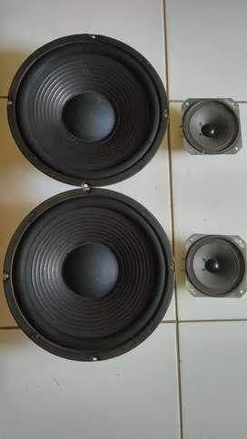 Speaker speker spiker 10inc dan 4inc