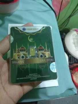 Antam 1 gram Gift Series Idul Fitri