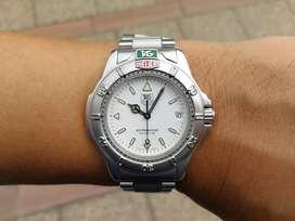 Tag Heuer 4000 WF1112-0 White Dial Quartz mint Condition