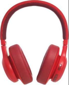 JBL E55BT Bluetooth Headset  (Red, On the Ea0r) new minor dent