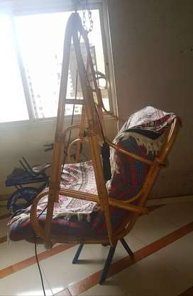 Good condition bamboo swing