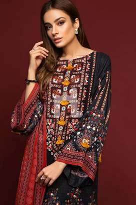 Nishat 3pc winter collection