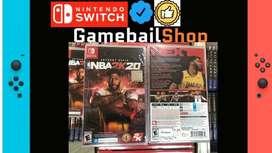 HOT PROMO !!! Nintendo Switch Nba 2k20