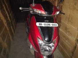 6 months old tvs intorc scooty