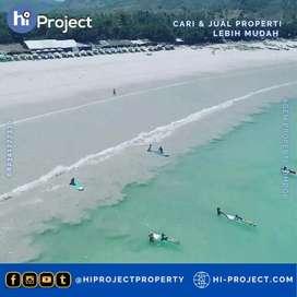 Tanah Lombok tengah pinggir Pantai di Selong belanak T538