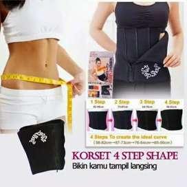 4 Step Shape Slimming Belt atau Korset Pelangsing infared