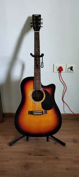 Acoustic & Semi Electric Guitar in brand new condition