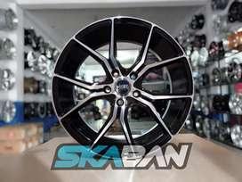 menjual hsr wheel voodoo fc ring 18x8 h5(114,3) di ska ban pekanbaru