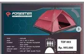 Tenda kemah kapasitas 4