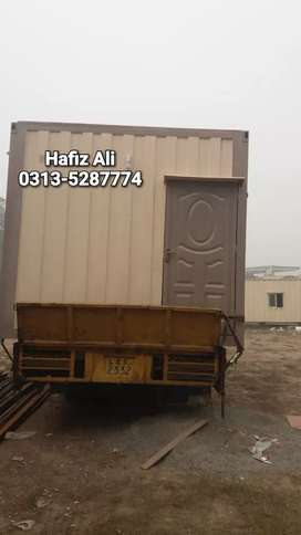 Smart cabin security guard room toilet office container porta cabins