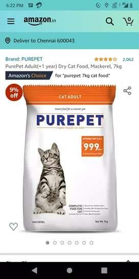 PUREPET cat food