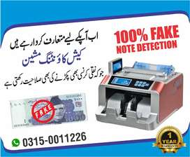 cash counting machine note counting and fake note detect machine