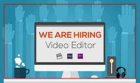 Needed of video editor