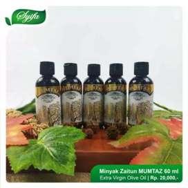 Minyak zaitun 60ml mumtaz extra virgin olive oil herbal