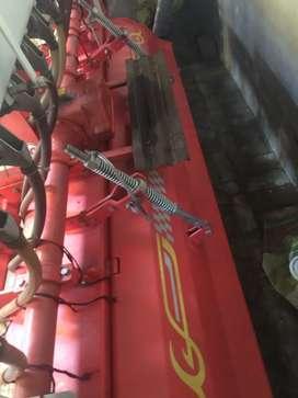 8 feet maschio rotavator