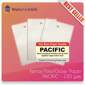 Kertas Foto Glossy Photo Paper A4 240 Gsm Pacific Premium - Isi 20