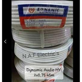 Kabel NYM HY 2x0.75 Dynamic serabut 50 yard