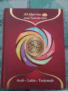 Al Quran Ku dg Tajwid Blok Warna Arab Latin Indo