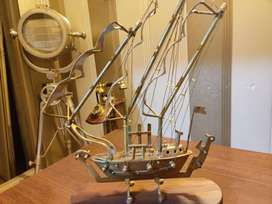 Brass Ship Titanic antique heavy weight and quality