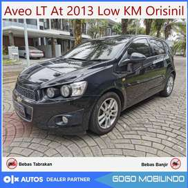 [DP38jt] Chevrolet Aveo LT At 2013 Plat AB Km 40rban