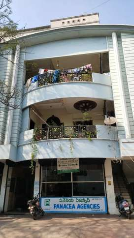A pent house in Sarada street dabagardens visakhapatnam for rent