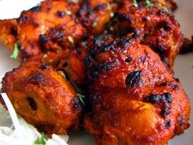 Cook chahie  kabab or tandori chicken k liye