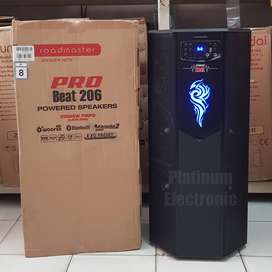 "Speaker Aktif ROADMASTER PRO BEAT 206 Sound System 6"" x 4 Woofer"