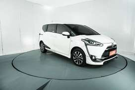 Toyota Sienta Q AT 2016 Putih