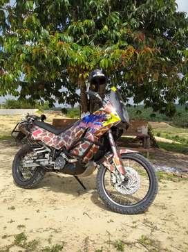 KTM 950 Adventure legend / rare dakar winning bike moge FP pajak hidup