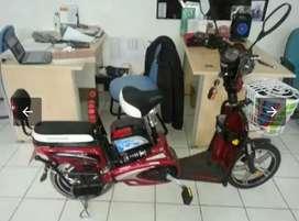 Sepeda listrik ban tubeles bisa buat antar sekolah