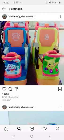 stroller anak / stroller character.stroller mall