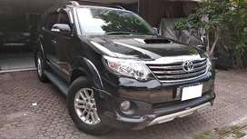 Toyota Fortuner Diesel VNT TRD Sportivo AT th 2013 Hitam