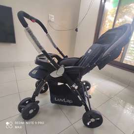 Luvlap baby stroller for 0 to 3 years children