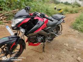 Pulsar 160 Ns Red colour