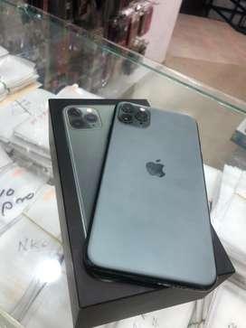 I phone 11 pro max dual green
