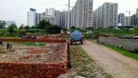 पक्की रजिस्ट्री के साथ 12000 पर गज के रेट में metro ke near by