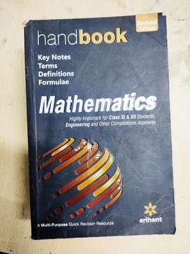 Handbook for mathematics chemistry