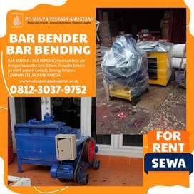 SEWA ALAT PROYEK - BAR BENDER / BAR BENDING MANADO
