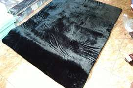 Tikar Karpet Kasur Bulu Rasfur Polos Isi Busa Berbagai Ukuran, Bs COD