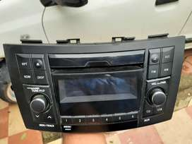 2012 to 2017 model Maruthi Swift genuine Stereo with Aux, USB port