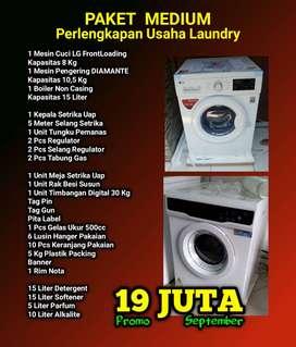 Jual Peralatan Laundry - Paketan Lengkap Usaha Laundry