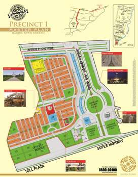 Bahria Town Karachi Precini 1, 250 Yds  possession plot