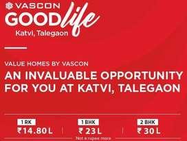 Vascon GOOD life Talegaon Affordable Homes  ZERO PRE EMI TILL PASSION