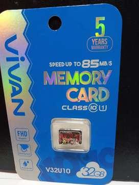 Memory bc Card 32 GB class 10 Vivan