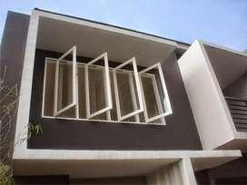 Kusen aluminium, jendela & pintu, kaca