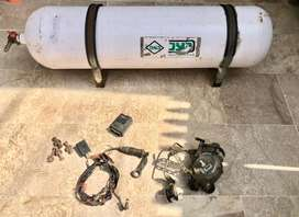 CNG Cylinder 60kg with Kit.